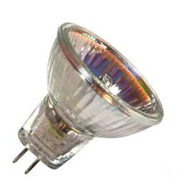 lampadina alogena dicroica12v50wattacco gu5.3senza vetro3000 h.