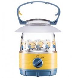 accattivante lanterna per bambini a forma di minionsgancio integrato per appendere la lanterna in qualsiasi posizioneinterruttor