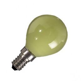 lampadina party sfera gialla220 - 240v15wattacco e14