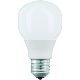 164305 eureka ef belle electronic fluorescenti 12w 827 e27 calda mazda