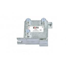 derivatori top line 2 vie.frequenza: 5 - 2400 mhz.attenuazione 18 db.