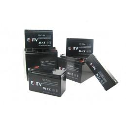 batteria al piombo 12v 5.2 a faston 4.8 mm exitvdim. 90x70x107 mm
