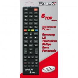 telecomando universale per marcacopre la maggior parte dei modelli in commercio delle 6 marche– lg– panasonic– telefunken– phili