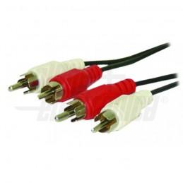 caratteristiche colore cavo: nero lunghezza cavo: 5m tipo cavo: lineare guaina cavo: pvc schermatura: calza finitura contatto :
