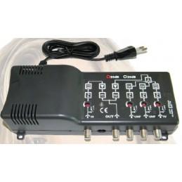 centralini autoalimentati serie 50centralini autoalimentati (220/230vac) multingressi per amplificare e miscelare i segnali prov