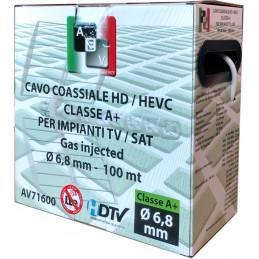 materiale : 100 % rame rossodiametro conduttore : 㘠1,02 mmisolamento : alluminio / petdiametro isolamento : 㘠4,70 mmdiametro