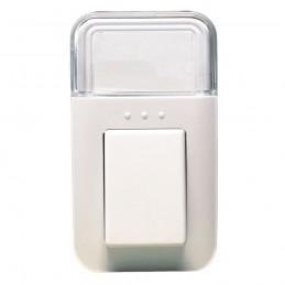 campanello wireless kin plug incampanello wireless con alimentazione 220v a spinapossibilità di scegliere tra 38 suonerie e tre