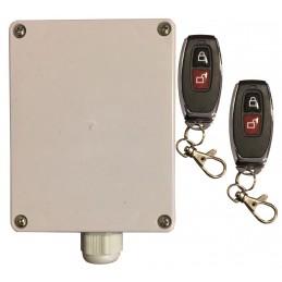 kit ricevente per luci da esterno a 433 mhzadatta per uso da esterno monostabile/bistabilepossibilita di temporizzare il funzion