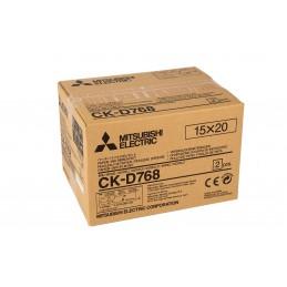 carta ed inchiostro per cp-d70/d707 dw(s) - formato 13x18 - confezione doppia da 460 stampe