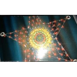 rete a stella 140 luci chiara