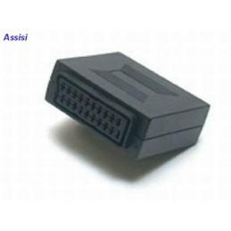 adattatore audio/videoconsente il collegamento di due cavi terminati con scart.con questo adattatore potrete effettuare una prol