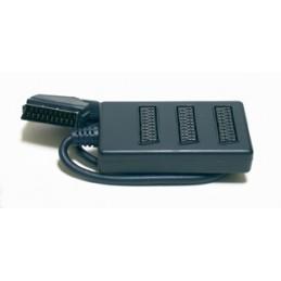 2-3 prese scart. questa tipologia di prodotto permette la connessione di più sorgenti audio/video (vcr-videocamere-videogiochi-d