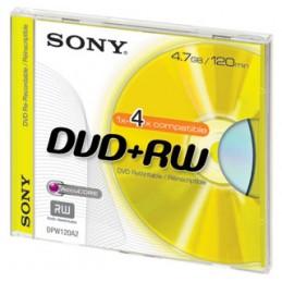 DVD+RW 4.7GB RISCRIVIBILE SONY