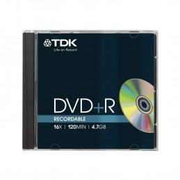 DVDR47M +4.7GB 16X  TDK DVD...