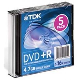 DVDR+47 GB 16X  PRINTABLE TDK