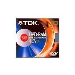 DVD-RAM   4.7GB 3X TIPO 4  TDK