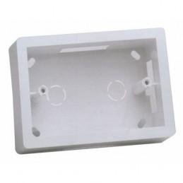 minicanali con coperchio a scattorealizzate in tecnopolimero isolante a base di pvc rigido autoestinguente v0-ul 94resistente al