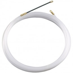 sonda nylon pa6monofilo 3mmtesta flessibilee tirante fissocolore ral9002tubo mm 16raggio curvatura minimo mm 80carico rottura so