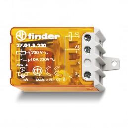 relè elettromeccanico ad impulsi tipo 270182300000 - serie 27 findermontaggio a pannellobobine ac1 o 2 contatti3 sequenze dispon