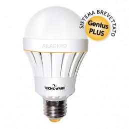• lumens: 1000lm• consumo: 10w• equivalente: 70w• temperatura di colore: natural white 3000k• angolo fascio luminoso: 270°• atta