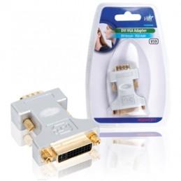 adattatore dvi (f) – vga (m), usando questo adattatore è possibile connettere un device analogico ad un device analogico/digital