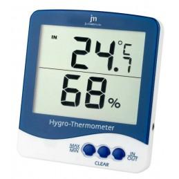 dim. cm. 10x11x2termometro (°c/°f) e igrometro.rilevazione della temperatura interna, esterna o altro (es.: frigorifero) tramite