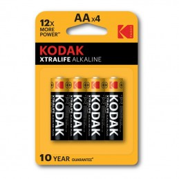 our kodak xtralife alkaline batteries offer you good performance and amazing value for money!featuresideal for: toys, remote con