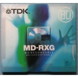 MINIDISC REGIST. TDK MDC80MXEC