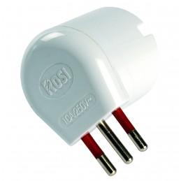 • spina: 10a 2p+t 250v - standard s11plug: 10a 2p+t 250v - standard s11• presa:1 x schuko biv. 10/16a 2p+t 250v - standard p30-p