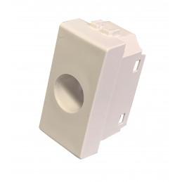 coprifrutto syncro 1 foro gewiss system bianco syncro