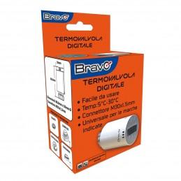 termovalvola digitalitermovalvola programmabile studiata per il controllo indipendente dei termosifoniprogrammazione su 7 giorni