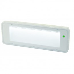 lampada di emergenza non permanente 90 min 200 lm, ip65luce di emergenza non permanente led. ideale per installazione in case pr