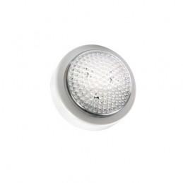 push-light led velamppushlight led. adatta per qualsiasi utilizzo. installabile a parete o a ripiano, grazie all'apposito bi-ade