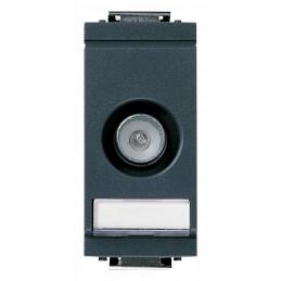 prese coassiali tv-rd-sat 5-2400 mhzpassante, con connettore maschio, attenuazione di derivazione10 db