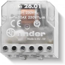 RELÈ  ELETTROMECCANICO AD IMPULSI 1NO AC50HZ 230V FINDER