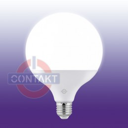 LAMPADA LED GLOBO G120 ALTA EFFICIENZA 18W 1700LMN E27 4000K 25000H CONTAKT