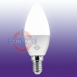 LAMPADA LED OLIVA ALTA EFFICIENZA 6W 560LMN E14 2700K 30000H CONTAKT