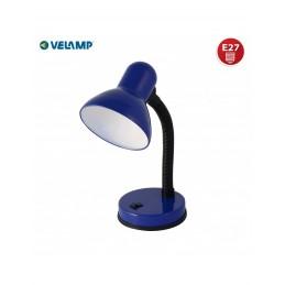 CHARLESTON LAMP. DA TAVOLO BLU E27 VELAMP